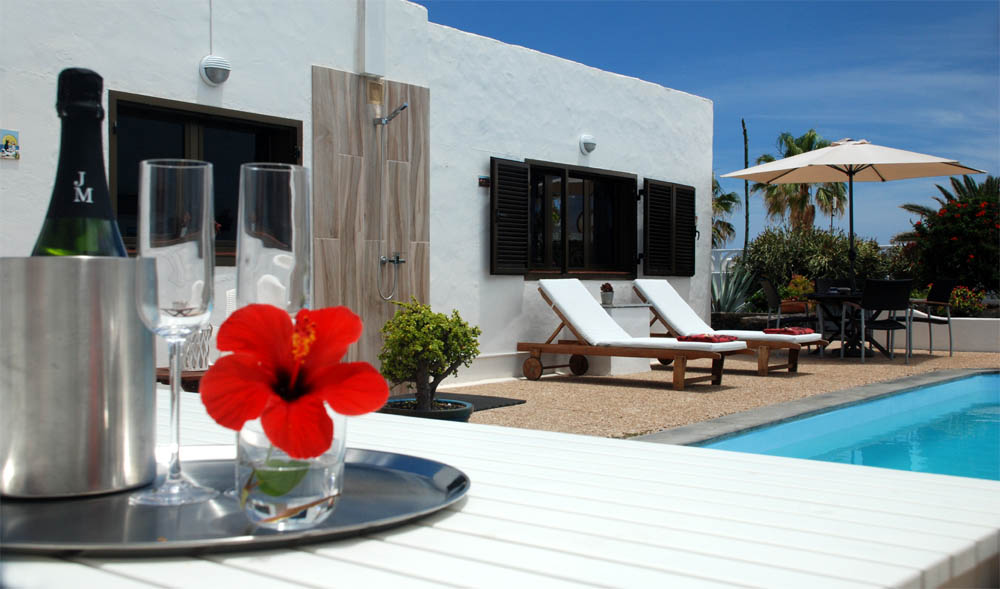 villa private pool Lanzarote